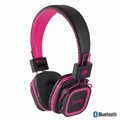 NGS Pink Artica Jelly Bluetooth Stereo Headphone