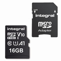 Integral Micro SDHC Memory Card 16GB High Speed